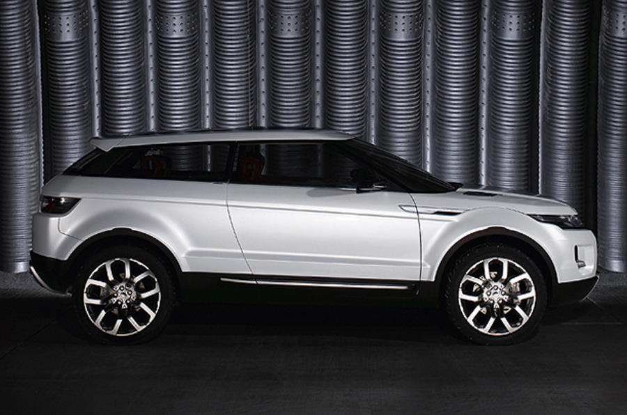 Land Rover goes front-drive