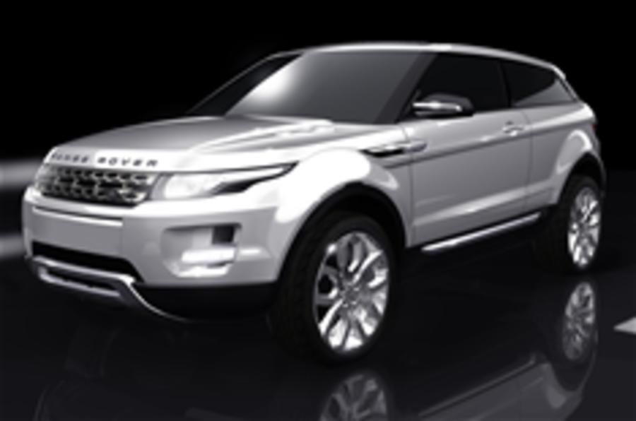 Range Rover LRX confirmed