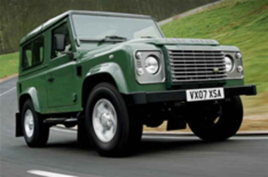 Land Rover plans new Defender