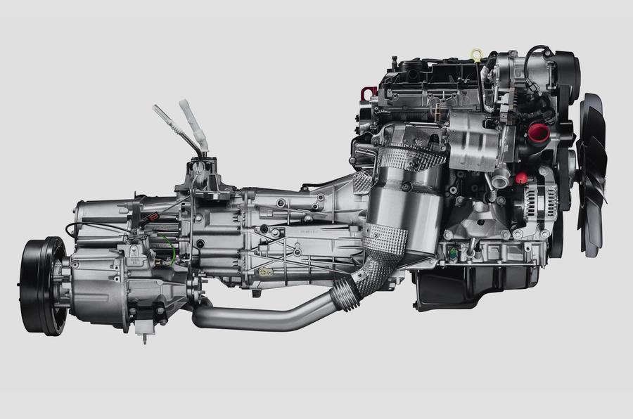 New diesel engine for Defender