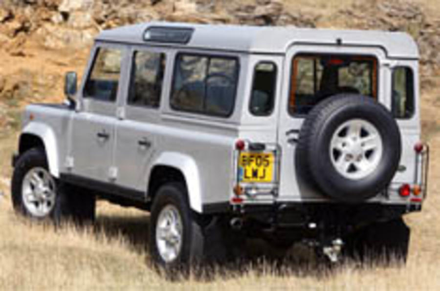 Land Rover Defends until 2010
