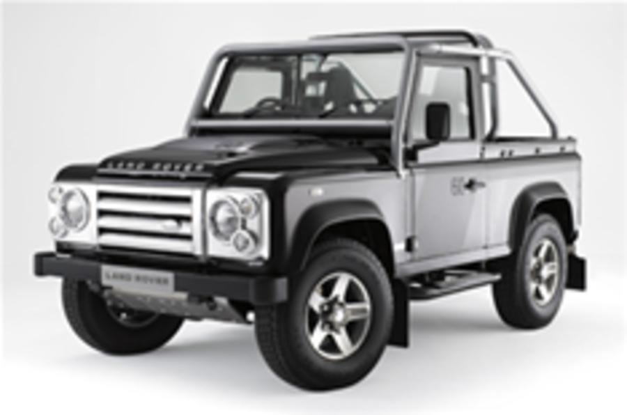 Defender's dolled-up for 60th birthday