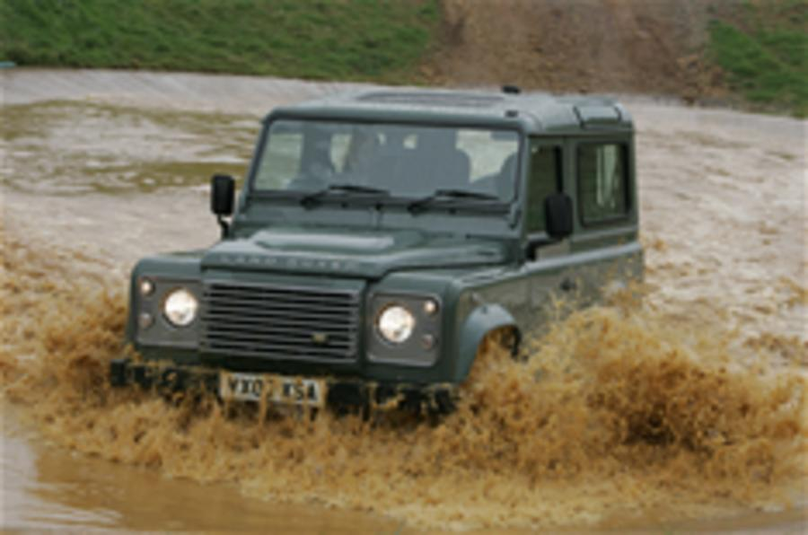 Land Rover's sales rise again