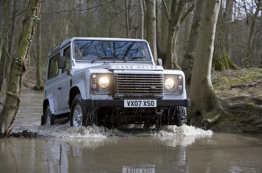 Land Rover's new Defender