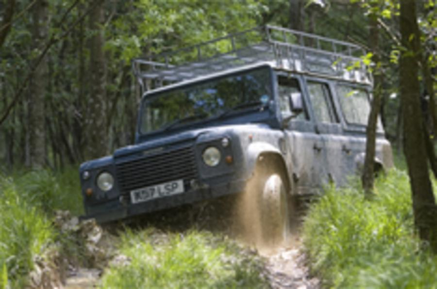 Land Rover sales up again