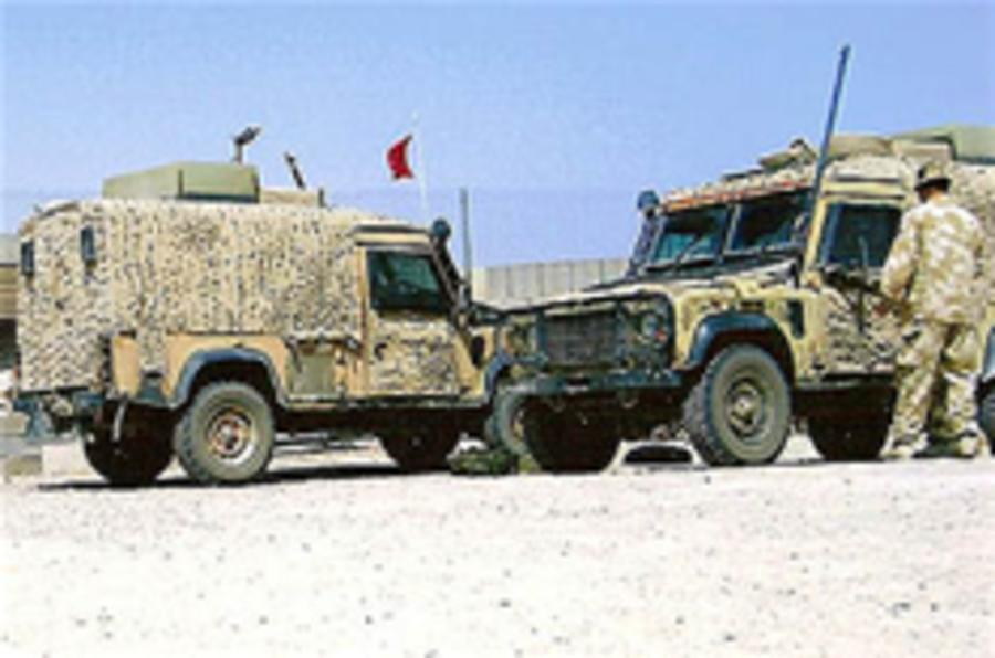 Army abandons Land Rover