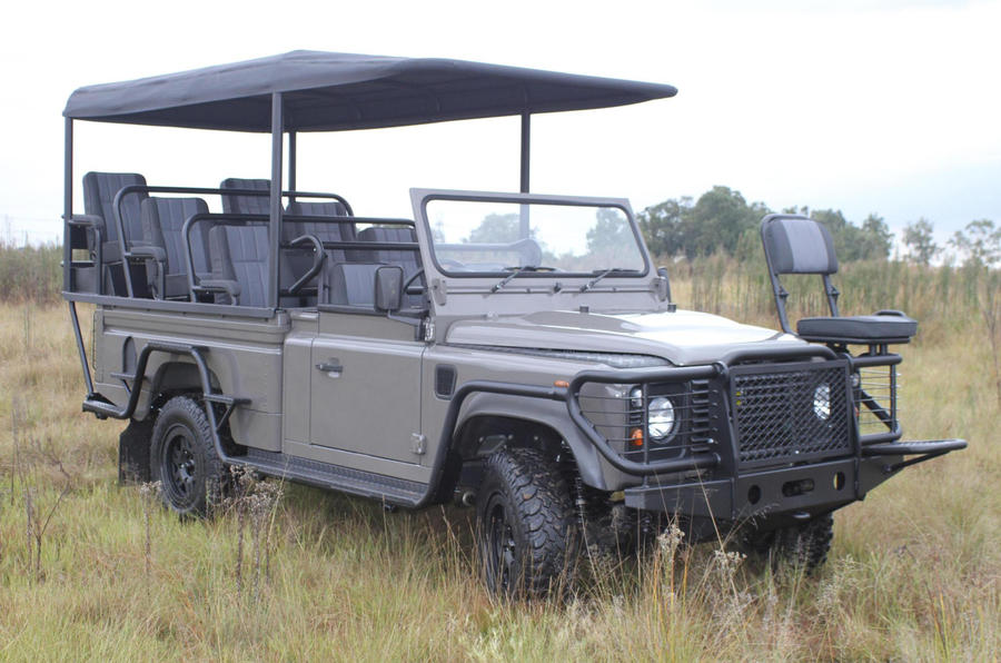 Electric Defender launched