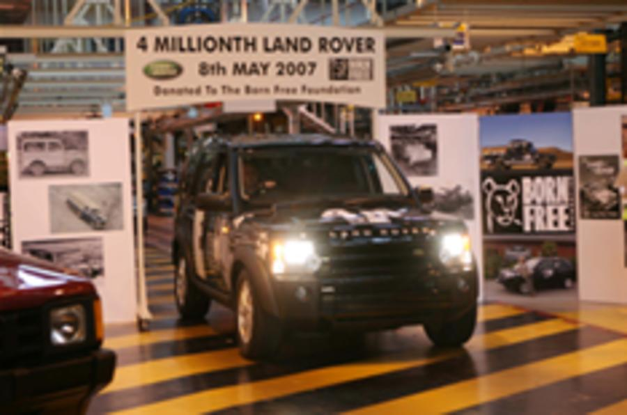 Four millionth Land Rover produced