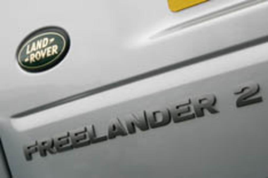 Frankfurt show: Freelander hybrid