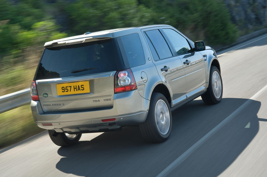 New Freelander shown at Moscow