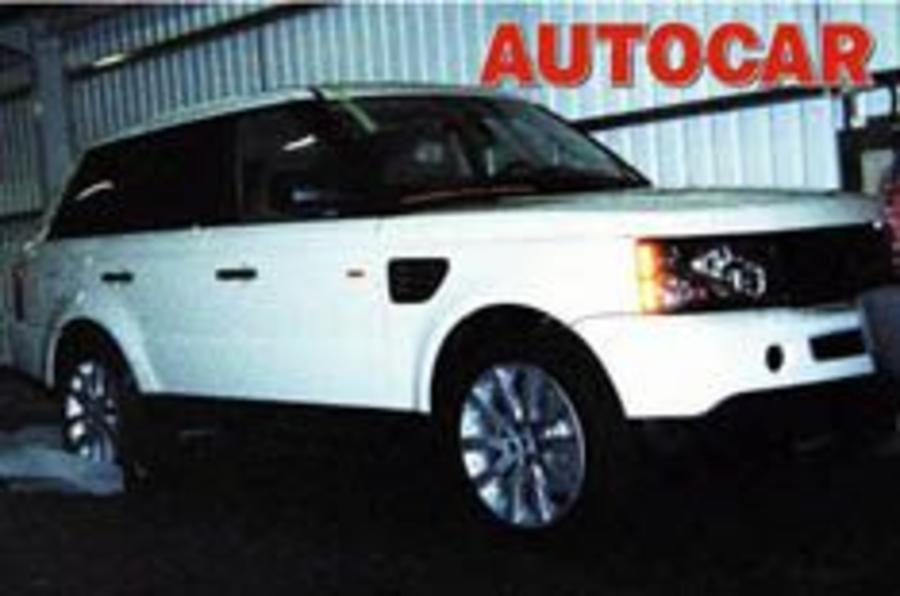 Exposed: baby Range Rover