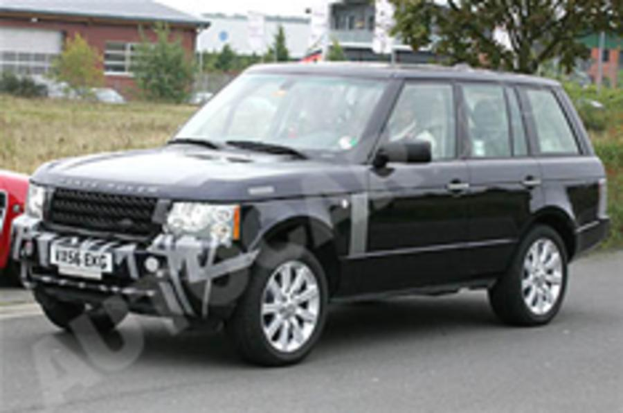 Spied: Range Rover facelift