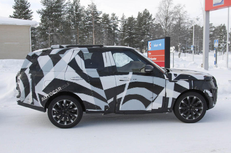 All-new Range Rover scooped