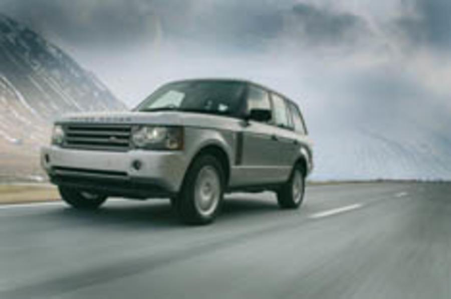 V8 diesel for Range Rover