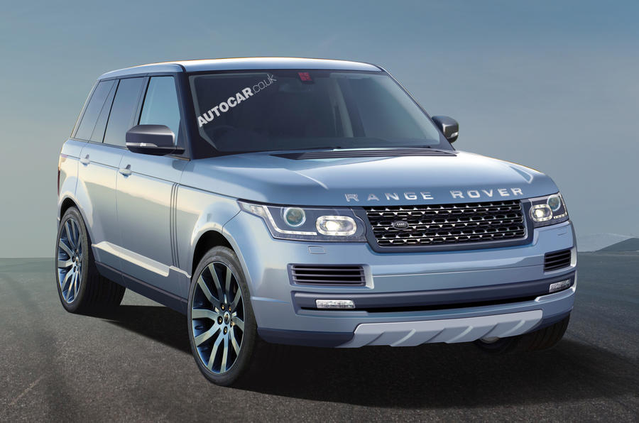 New Range Rover pictured