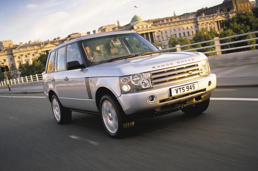Range Rover/XJ 'platform share'
