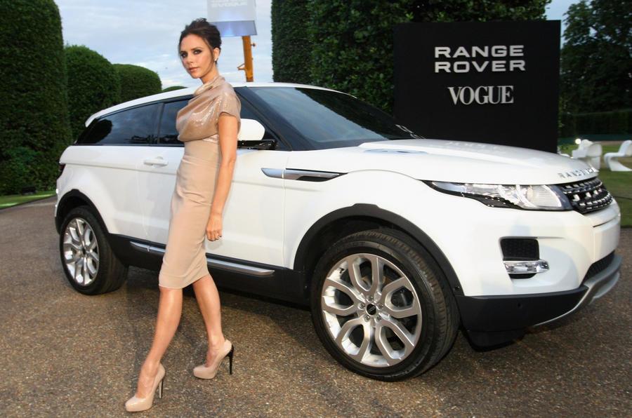 Range Rover Evoque Beckham special