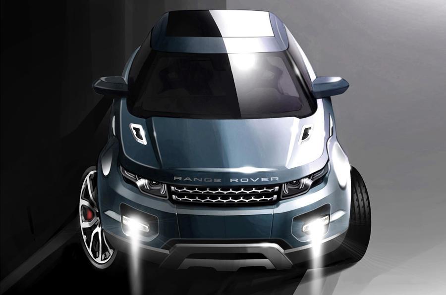 Land Rover's XL Range Rover Evoque