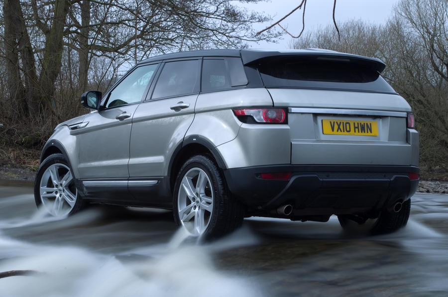 Range Rover Evoque - exclusive test