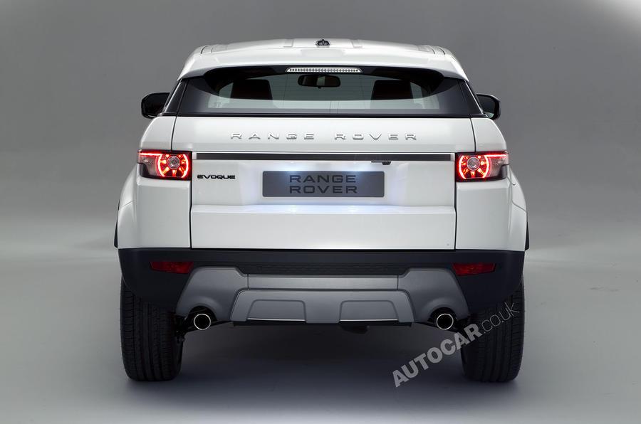 Paris motor show: Range Rover Evoque