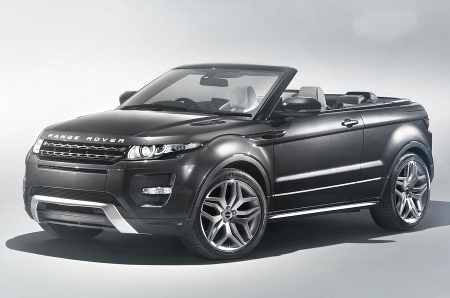 Geneva 2012: Evoque convertible