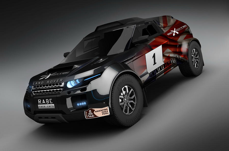 Evoque-inspired Dakar racer shown