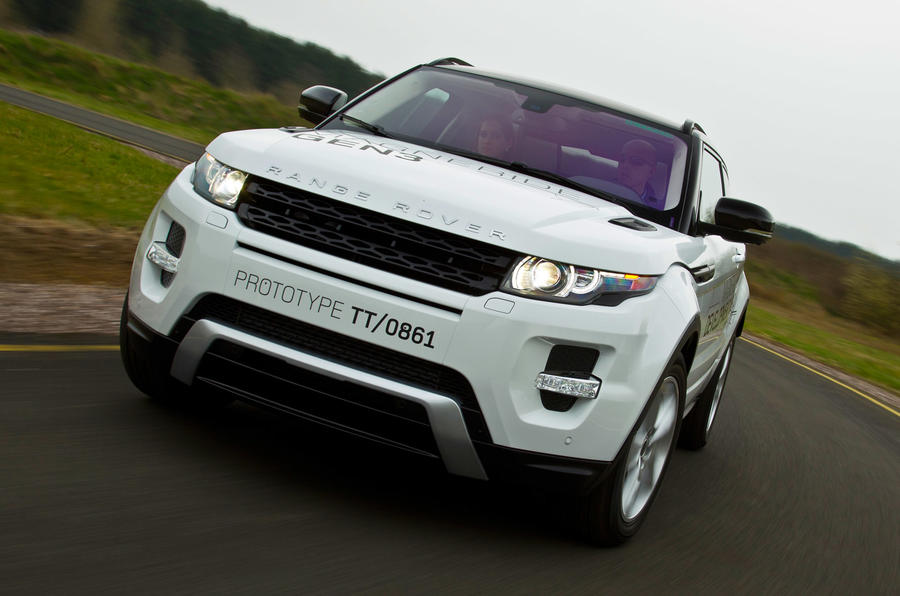 Range Rover Evoque prices revealed
