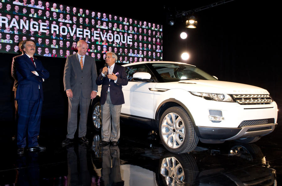 Range Rover Evoque production starts