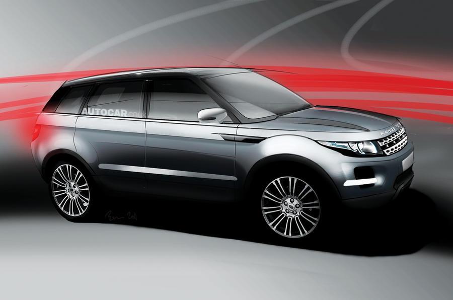 Bigger Range Rover Evoque planned
