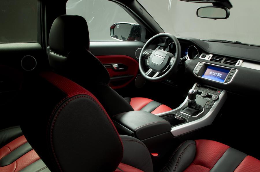 Range Rover Sport >> Range Rover Evoque: interior details | Autocar