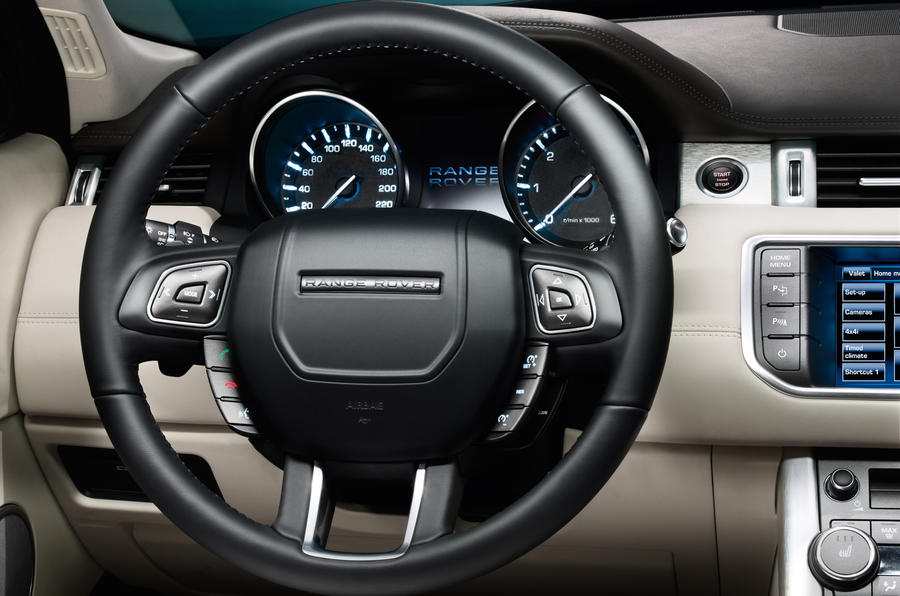 Range Rover Evoque Interior Details Autocar