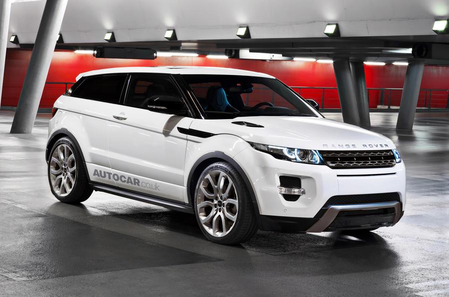 Hot Range Rover Evoque planned