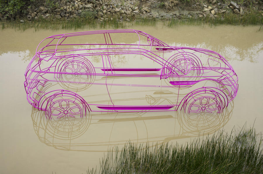 18,000 orders for Range Rover Evoque
