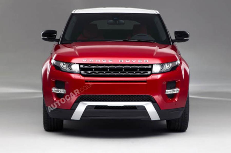 LA motor show: Range Rover Evoque 5dr