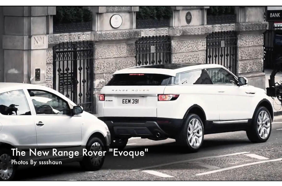 Range Rover Evoque spied in London