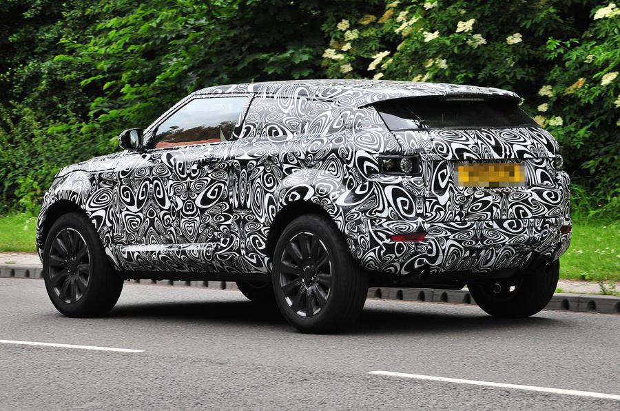 Range Rover Evoque: new pics