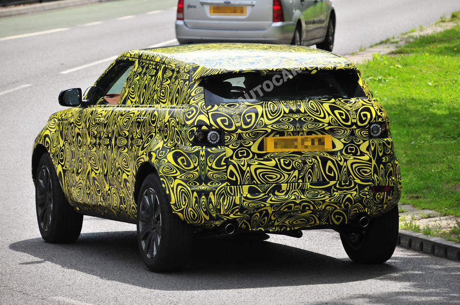 First pics: Range Rover Evoque 5dr