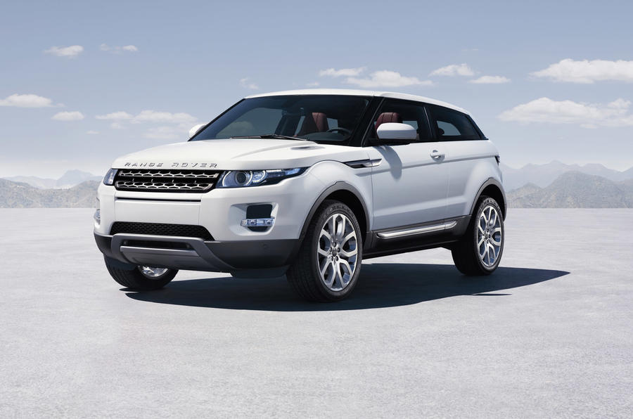 Land Rover's new model blitz