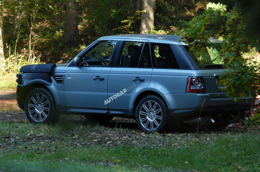 New Range Rover Sport scooped