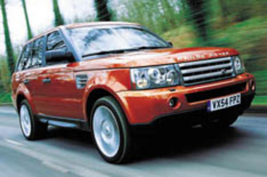 Land Rover's Power Ranger driven