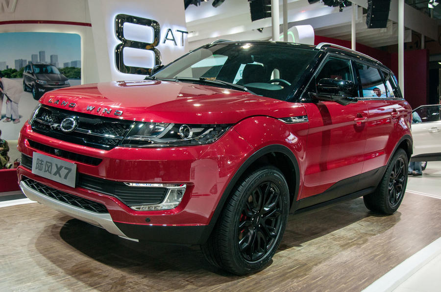 Range Rover Evoque Versus Landwind X7 Copycat Which Is