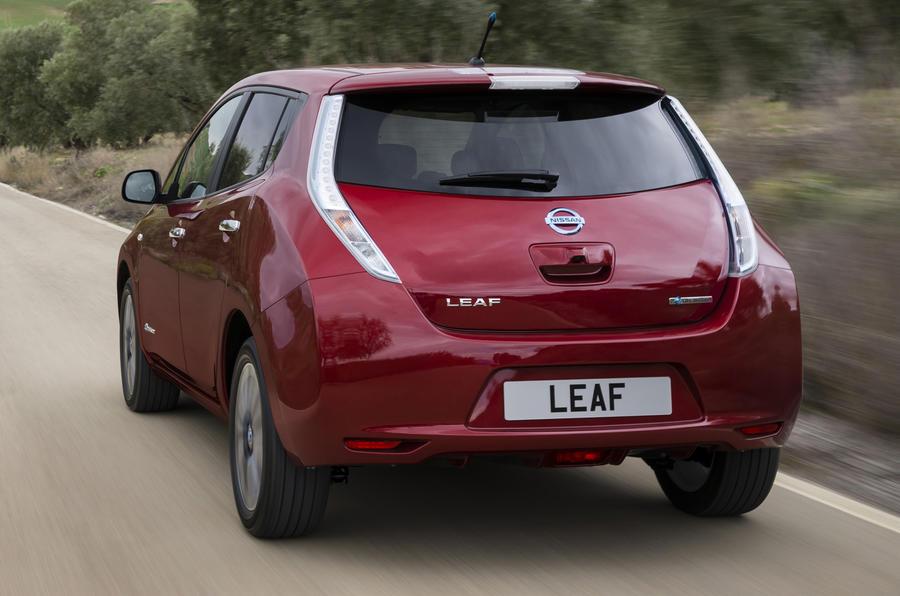 facelifted nissan leaf to offer battery leasing autocar. Black Bedroom Furniture Sets. Home Design Ideas
