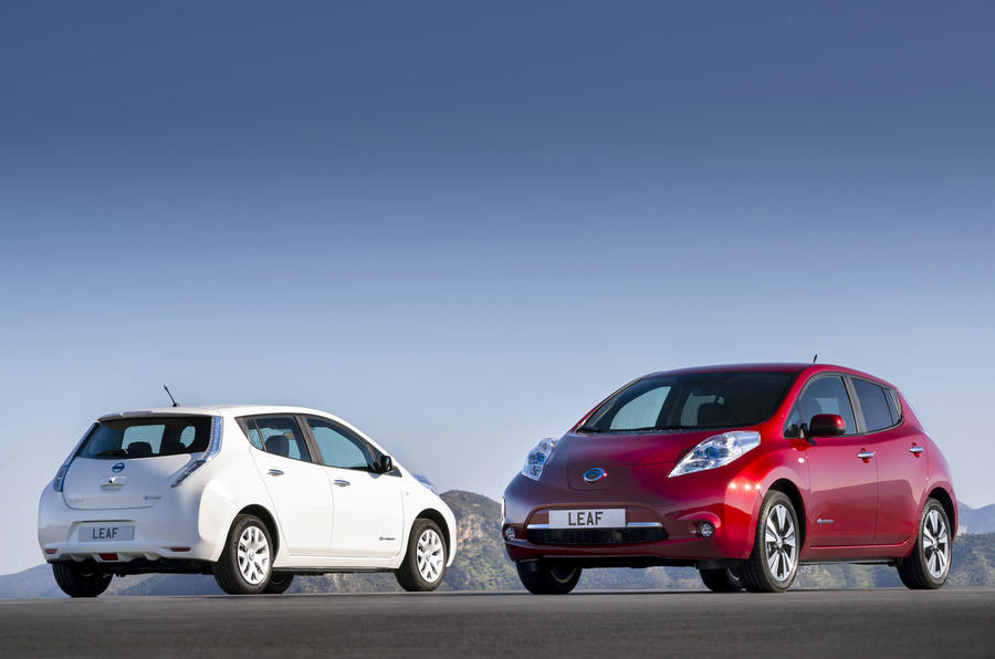 Facelifted Nissan Leaf to offer battery leasing | Autocar
