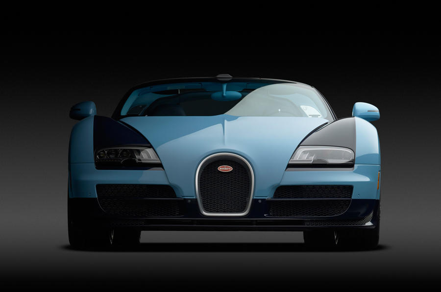 Bugatti Veyron 16.4 Grand Sport Vitesse Legend Jean-Pierre Wimille revealed