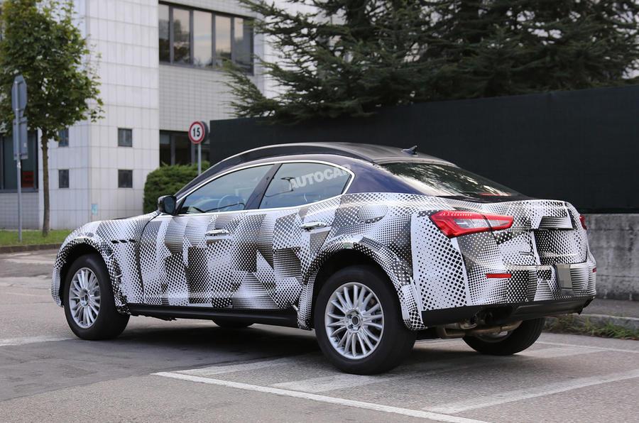 Maserati begins development of Levante SUV