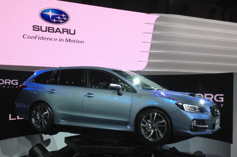 Subaru Levorg sports tourer concept unveiled