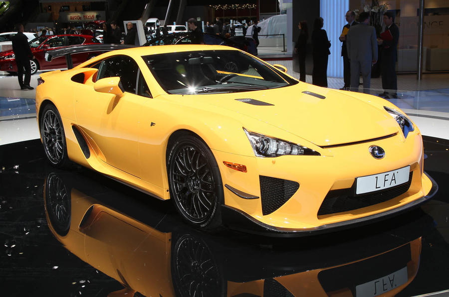 Geneva show: Lexus LFA Nurburgring Pack
