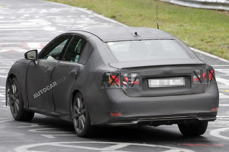 Next Lexus GS - new pics