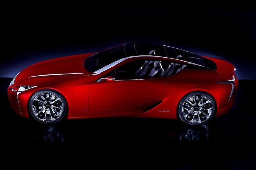 New Lexus concept breaks cover