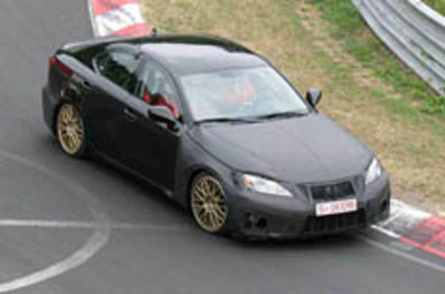 Lexus's M3 rival spied